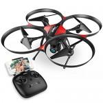 DROCON – Drone TRAVELER / U818A Plus con FPV e Aggiornato con Mantenimento Quota – Telecamera HD 720P con Grandangolare a 120° e Funzione Antivibra...