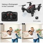DROCON GD60 Mini Drone RC Quadricottero con videocamera HD 720P Video in Diretta per Bambini / Principianti