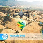 EACHINE Drone con Telecamera, E58 Pieghevole Drone con WiFi FPV HD 720P App Mobile Controllo Grandangolare Selfie Drone modalità di Attesa in Altit...