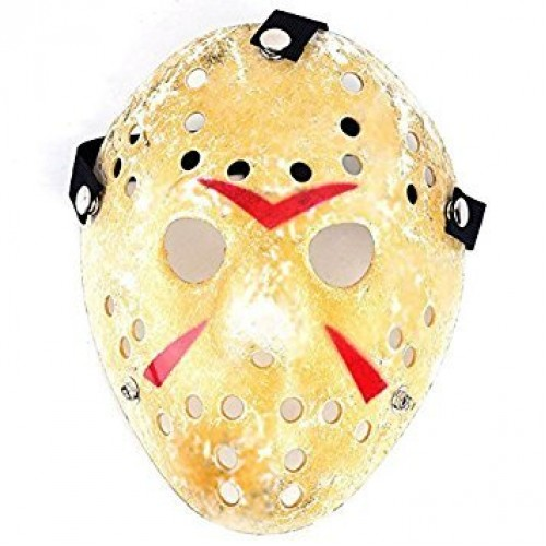1PCS Cosplay Costume Mask Halloween Party Cool Mask Hockey Festival Mask