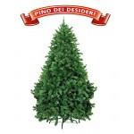 Albero di Natale Verde Pino dei Desideri Evolution Ultra Folto Realistico Christmas 2017 (L Altezza 210 cm, 1000 Punte)