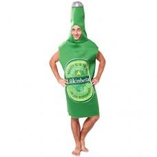 EraSpooky Uomo Adulti Bottiglia Birra Adulti Costume Commedia Gadget