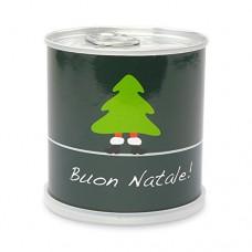 Extragifts Albero di natale in lattina - Merry Christmas (verde)