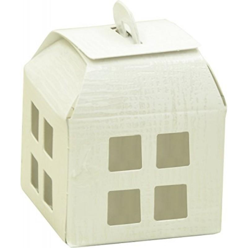 fabula prima comunione scatolina lanterna bianca per. Black Bedroom Furniture Sets. Home Design Ideas