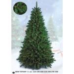 Flora Albero di Natale Artificiale, Verde, 150 cm,