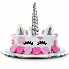 Unicorno Cake Topper Matrimonio/Toppers Torta/Decorazioni Torte, Decorazioni per Feste di Compleanno/Matrimonio/Vacanza, Carina Unicorno Horn, Orec...