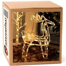 Gartenpirat renna filo metallico83 micro LED colore bianco caldo batterie timer esterni