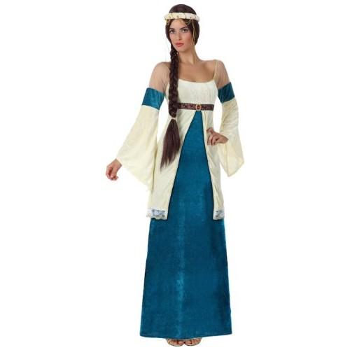 Atosa 15432 costume dama medievale, adulto