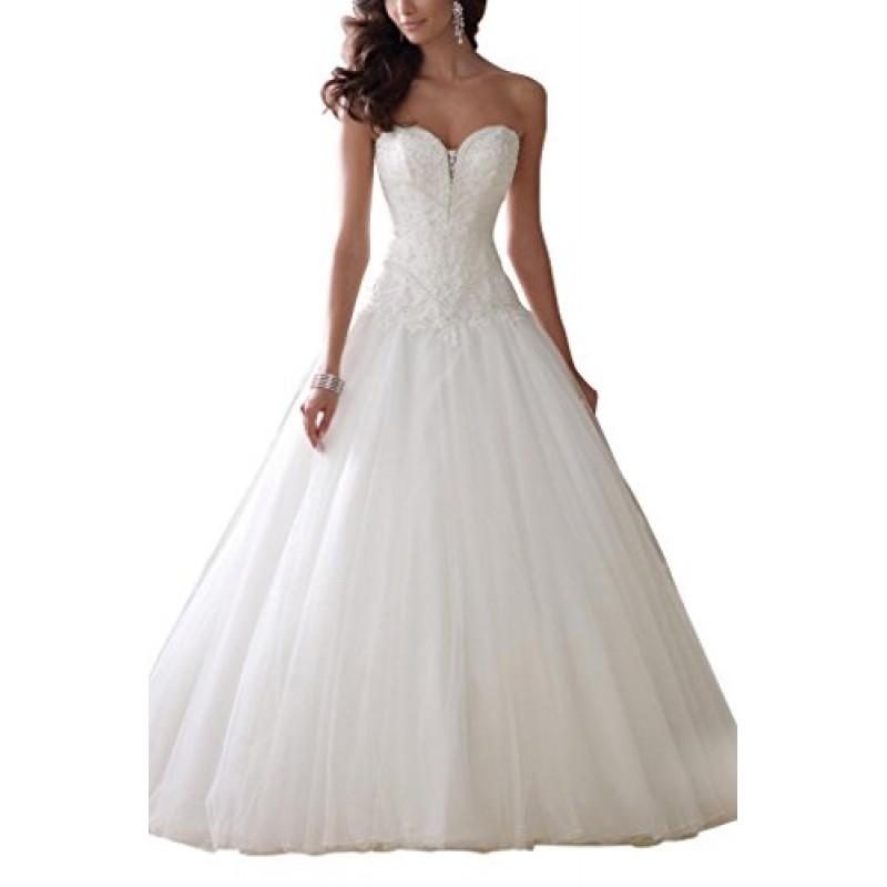 Sposa avorio Abiti Principessa Bride George Da Nuovotaglia 36 WHD2E9IY