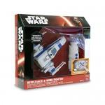 Giochi Preziosi - Star Wars Il Risveglio della Forza - Astronave X-Wing con Radiocomando, Lunghezza 14 cm