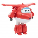 Giochi Preziosi - Super Wings Jett Super Robot, Veicolo Trasformabile in Robot, Personaggio Jett Incluso, UPW77000