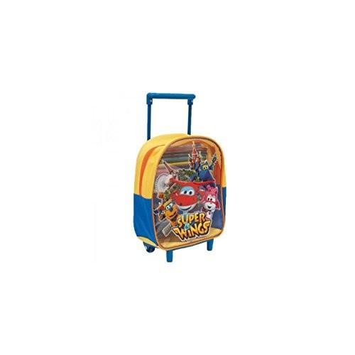 Giochi Preziosi UPC05000 - Super Wing Zaino Trolley con Pennarelli