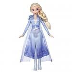 Disney Frozen 2 - Elsa (Fashion Doll con Capelli Lunghi e Abito Blu, Ispirata Al Film Frozen 2)