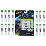 Hasbro Star Wars B7865EU4 - Giocattolo Disney Star Wars Glow In The Dark Dart Refill Pack - x14 Glowstrike Darts