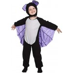 HENBRANDT Costume da Pipistrello Enfant Costume età 3 Anni