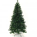 Hengda® 220cm Albero di Natale di abete artificiale Albero di decorazione Abete artificiale con verde di ferro-piede