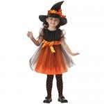 Halloween Bambini Ragazza Abiti da partito + punta Cappello , Hiroo Bambine Elegante Servizio di prestazione Vestito da costume Abbigliamento Outfi...
