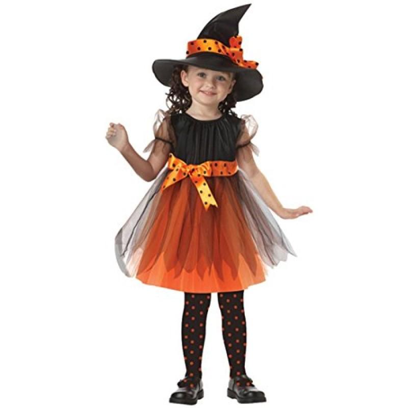 new product 2e5be e2d44 Halloween Bambini Ragazza Abiti da partito + punta Cappello ...