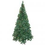 Albero di Natale artificiale - Abete con decorazioni (180cm , verde)