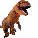 A Costume gonfiabile da dinosauro T-Rex, per feste o cosplay Costume Dinosauro Gonfiabile Costume Costumi di Halloween per Adulti Festa Costumi Alt...