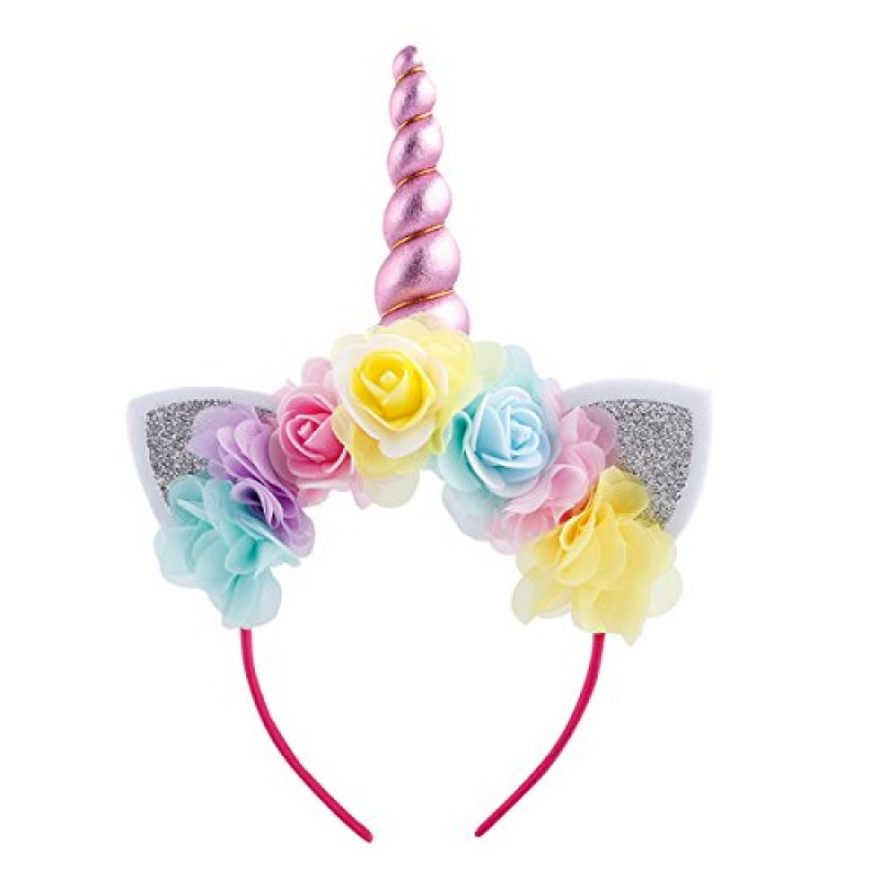 be91fe55c3 Costume da Principessa Unicorno per Bimba con Vestito Lungo Compleanno  Ballerina Abiti Bambini Carnevale Halloween Cosplay ...