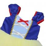 iEFiEL Costume Halloween Carnevale Cosplay Ragazze Principessa Abito Vestito per Cerimonia Pageant Holloween Natale Festa Compleanno per Bambine 0-...