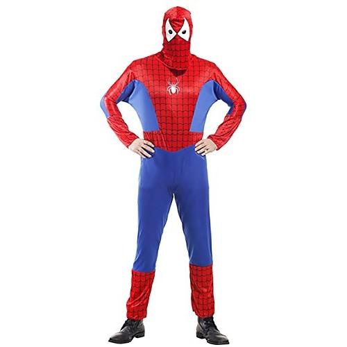 Inception Pro Infinite Taglia Unica - Costume - Travestimento - Carnevale - Halloween - Spiderman - Super Eroe - Uomo Ragno - Colore Rosso - Adulti...
