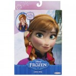 Jakks Pacific UK Ltd Anna Frozen Disney Parrucca per costume di Carnevale