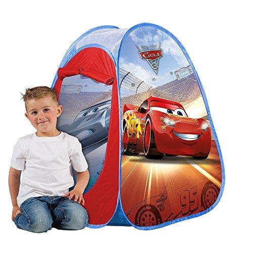 John Disney 72554 - Tenda Giocattolo Pop Up Cars