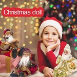 Babbo Natale Doll scrivania Decocr scala di risalita di corda Seduto bambola divertente pendente Hanging decorazioni Babbo Natale pupazzo di neve