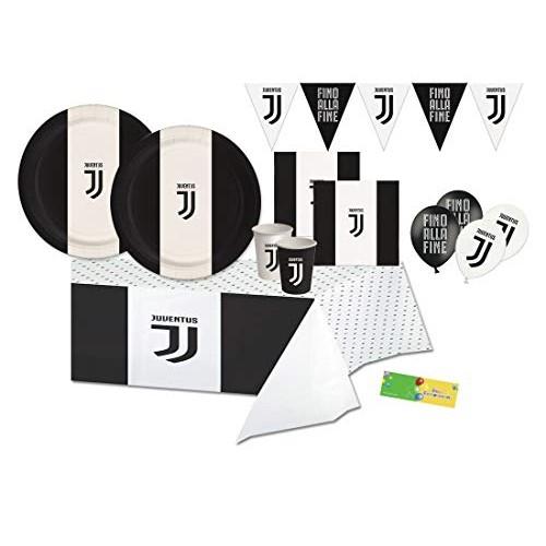 juve Kitn 1 Coordinato tavola Compleanno F.C Juventus prodotti ufficiali