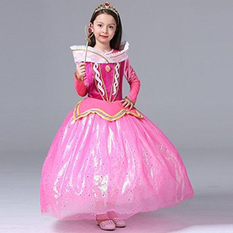 Katara costume vestito da principessa aurora di la bella