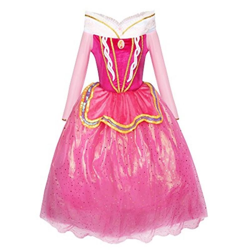 online retailer 8b4aa d9272 Katara - Costume Vestito da Principessa Aurora di La Bella ...