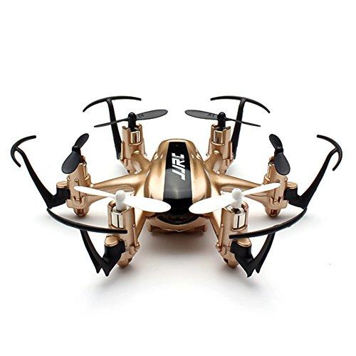 H20 Hexrcopter 2.4G 4 canali 6 Axis Gyro Rc Drone Quadcopter Headless 3D Modalità Rollover (Oro)