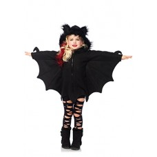 cb11faae9323 Leg Avenue - Costume per travestimento da Pipistrello, Bambina, colore:  Nero, M