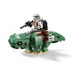 LEGO Star Wars - Microfighter Capsula di salvataggio contro Dewback, 75228