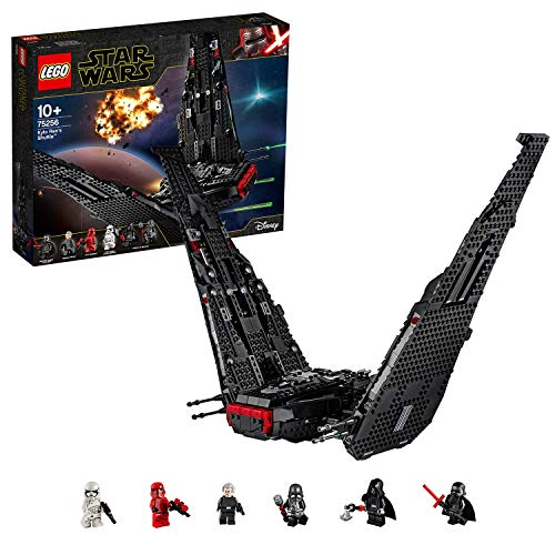 LEGO- Starwars Shuttle di Kylo Ren 75256 Set di Costruzioni per Viaggiare nella Galassia, per Ragazzi di +10 Anni e Collezionisti
