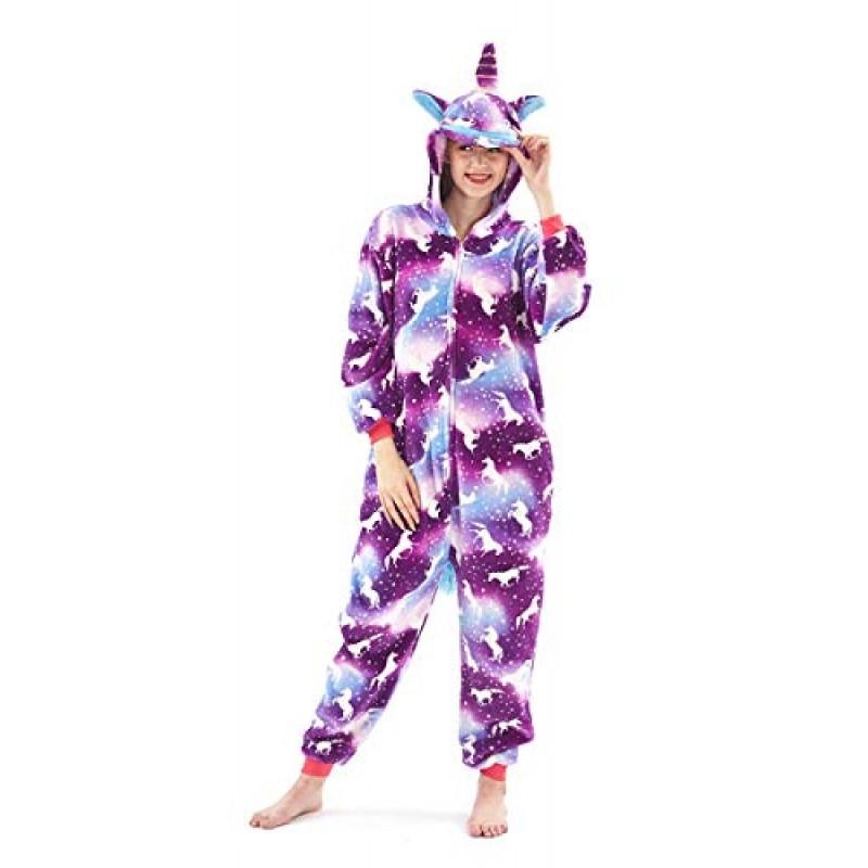 d5b078214e Pigiama o Costume di Carnevale Halloween Pigiama Cosplay Party OnePiece  Intero Animali Regalo di Compleanno per