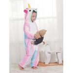 Pigiama o Costume di Cosplay Party Halloween Bambini Sleepwear Animali di Carnevale Onepiece Intero Unicorno Regalo di Compleanno Per Ragazza o Rag...