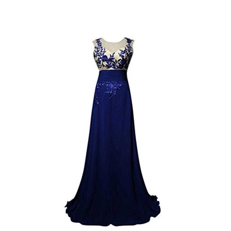 0b3d73a94301 Molly Donne Elegante Pizzo Paillettes Abiti Da Sera Vestito Convenzionale  3XL Scuro Blu