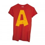 T-Shirt Alvin Superstar Cartoon - Cartoon by Mush Dress Your Style - Bambino-L-Rossa