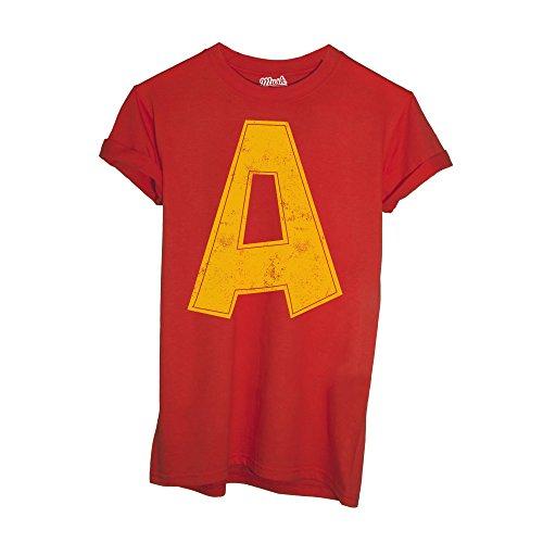 T-Shirt Alvin Superstar Cartoon - Cartoon by Mush Dress Your Style - Bambino-L-Rossa