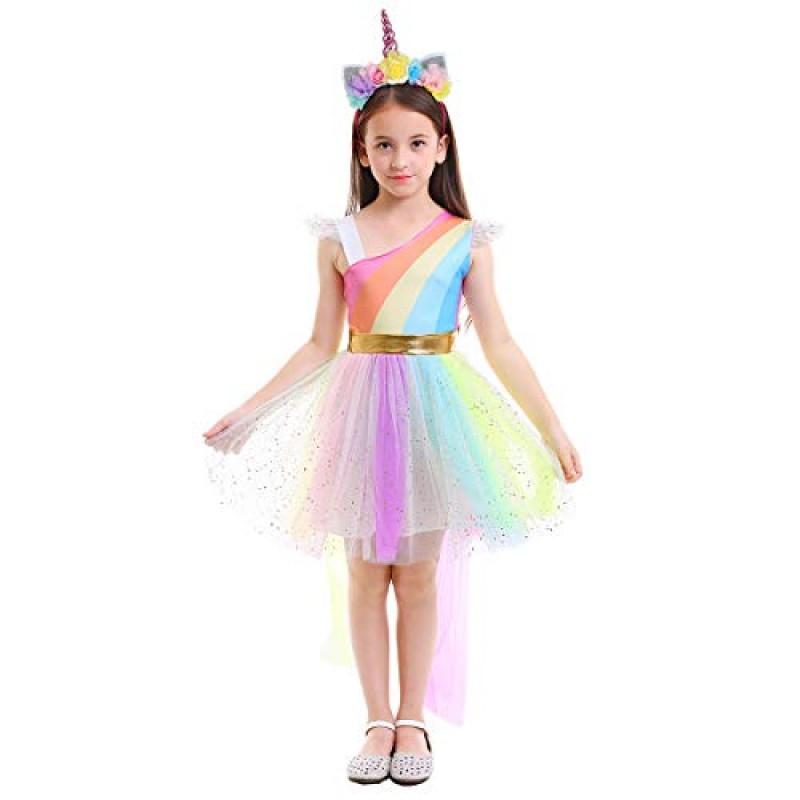 sconto fino al 60% nuovo stile di vari tipi di Costume da Principessa Unicorno per Bimba Compleanno ...