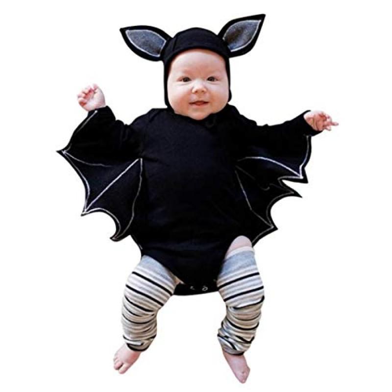 Vestiti Halloween.Bambino Manica Lunga Halloween Cosplay A Pipistrello Ha Yi Cartoon