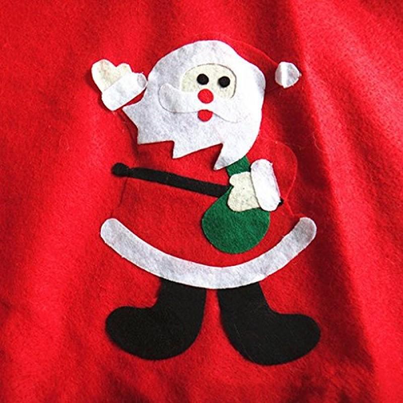 Babbo Natale 90 Cm.Ofye Gonna Albero Di Natale Decorazione Con Babbo Natale Alberi