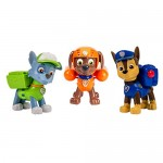 Nickelodeon, Paw Patrol - Set di personaggi - Action Pack 3 Cuccioli