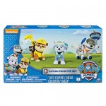 Paw Patrol 6026091 - Set 3 Cuccioli Action Pup - Everest, Rubble e Robodog