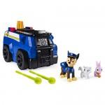 Paw Patrol- Chase's Ride n Rescue Set di Gioco 2 in 1 e Auto della Polizia, dai 3 Anni, Multicolore, 6053389