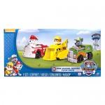 PAW PATROL Confezione da 3 Rescue Racers, Veicolo con Cucciolo-Marshall, Rocky e Rubble, 6024058