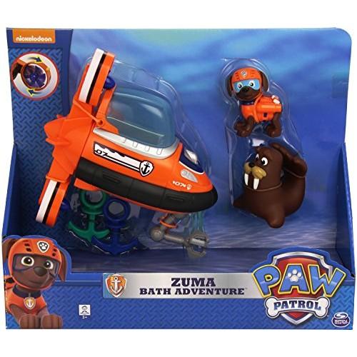 Paw Patrol - Zuma, Set da gioco per il bagnetto